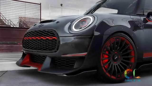 CL彩色人生 2017 Mini John Cooper Works GP Concept迷你概念车