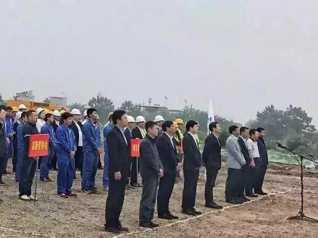 Nine major projects break ground in XDZ 奠基仪式九大工程破土西高新