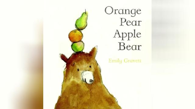 「启蒙喵绘本阅读」Orange Pear Apple Bear-Baby