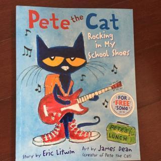 原版绘本 Pete the Cat Rocking in My School Shoes 皮特猫系列