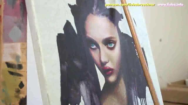 【手绘】OIL PAINT1 FROM RUSSIA Masterclass Oil paint REVIEW