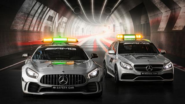 「AUTO攻略」每周壁纸精选 Mercedes AMG GTR FIA F1 Safety Car