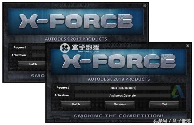 AutoCAD Products KeyGen 2019 X-FORCE,Autodesk系列产品注册机
