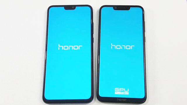 Honor 8X与Honor Play速度测试对比