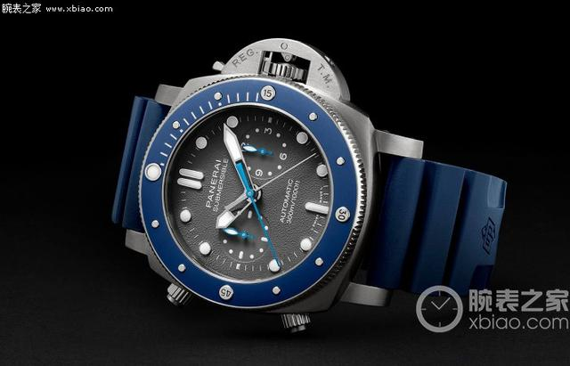 沛纳海推出Submersible Chrono Guillaume Néry特别版腕表
