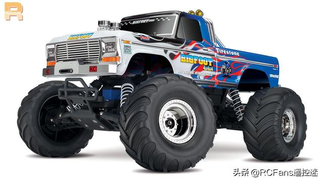 Traxxas Flame Paint Design 新款 BIGFOOT