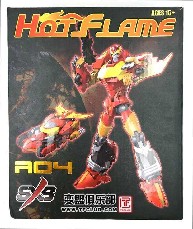 变形金刚 SXS R-04 Hot Flame IDW漫画造