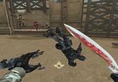 穿越火线CF最新款式的圣诞节军刀战斗力爆表,完全不怕斩魔刀对吧