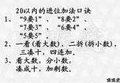 小学最实用的数学运算法则汇总,背过它,秒变数学小能手