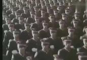 1984年大阅兵,充满杀气的劈枪动作震撼到了在场的外国人