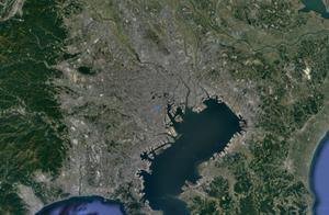 """日本东京:城建面积大到""""一望无际""""的城市 堪称世界最大城市!"""