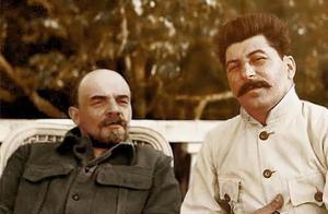 一组列宁珍贵彩色老照片,图二是列宁妻子克鲁普斯卡娅,太美了