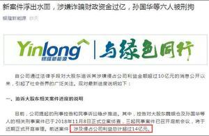 董明珠出击:银隆新能源大股东等涉嫌侵占14亿 6人被拘