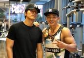 刘畊宏去健身房偶遇好友言承旭,网友:哎呦!好久不见哦
