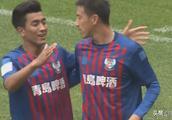 足协杯第三轮青岛黄海顺利淘汰对手晋级 刘龙光芒四射梅开二度