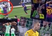 梅西帽子戏法众生相:对手球迷起立鼓掌!场上的人都抱头看傻